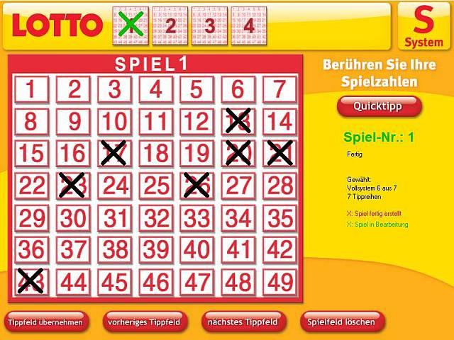 Quicktipp Lotto